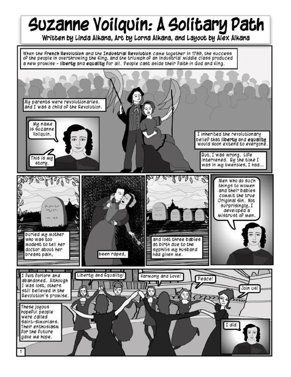 Suzanne Voilquin - pg 1