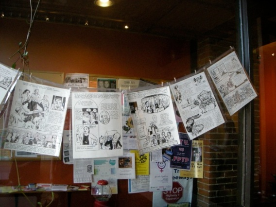 May Day Graphic History Project celebration - comic launch- pages